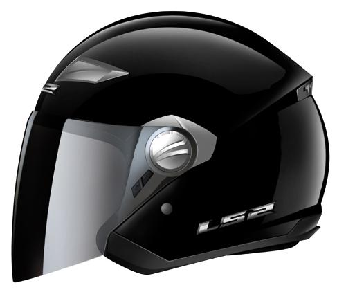 LS2  OF569.1 Scape modular helmet gloss black*