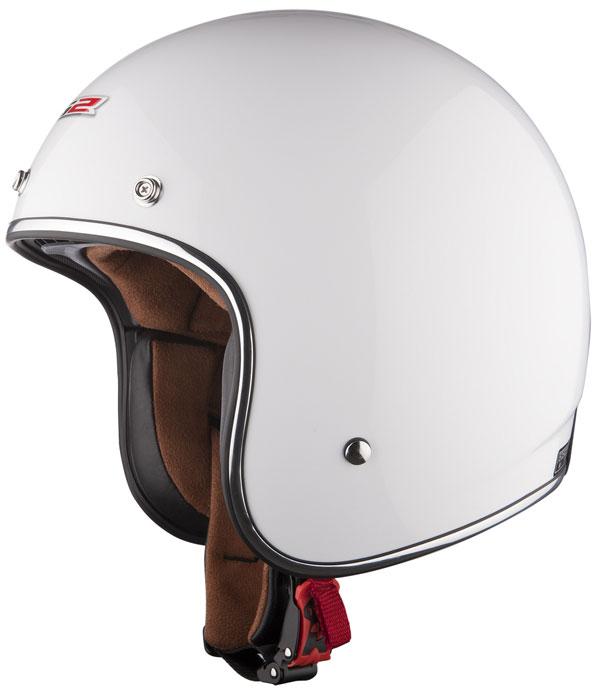 Helmet LS2 OF583 fiber Bobber white