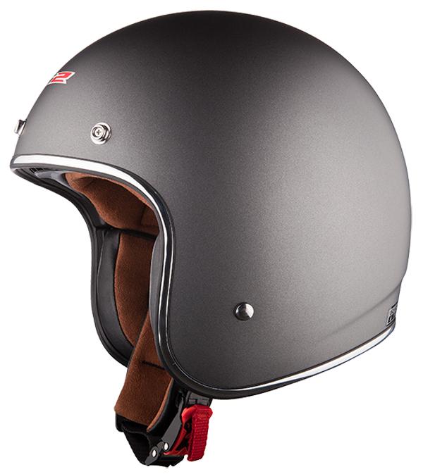 Jet helmet LS2 OF583 Bobber opaque Titanium