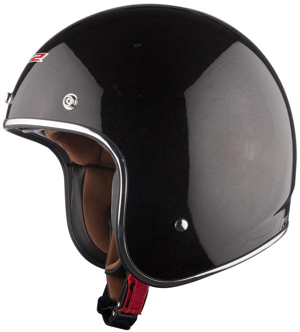Helmet LS2 OF583 fiber Bobber glossy black
