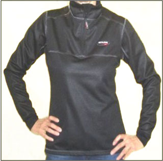 Windproof woman shirt Spark Ginevra