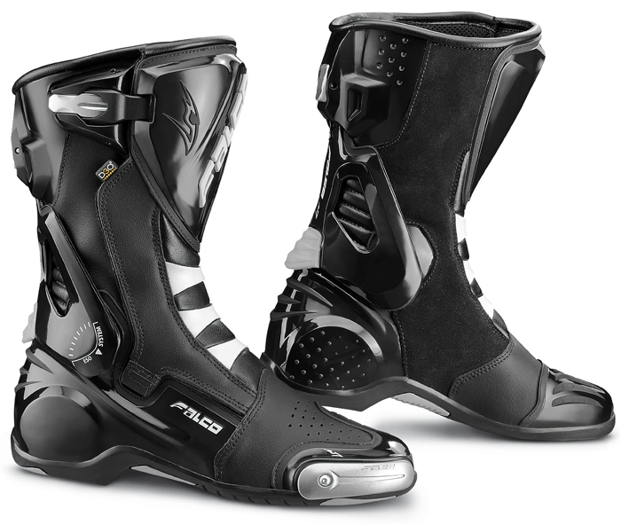 Motorcycle Boots Falco Eso LX Black