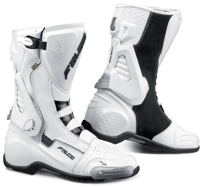 Motorcycle Boots Falco Eso LX White