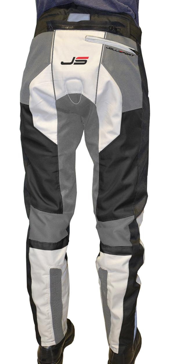Motorcycle trousers Jollisport STJ Beige Black Ice