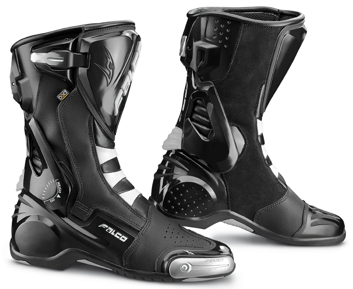 Motorcycle Boots Falco Eso Pro 2 with D3O Black shoe