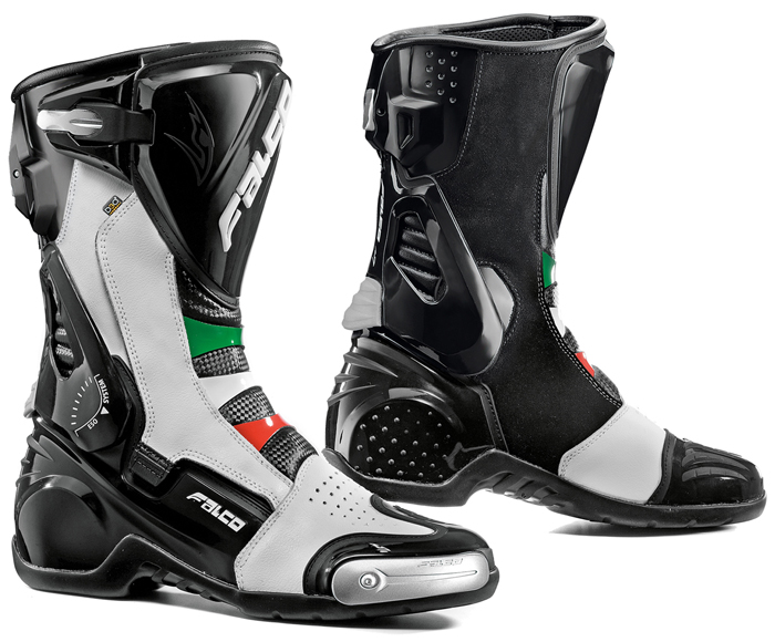 Motorcycle Boots Falco Eso Pro 2 with D3O Italian liner