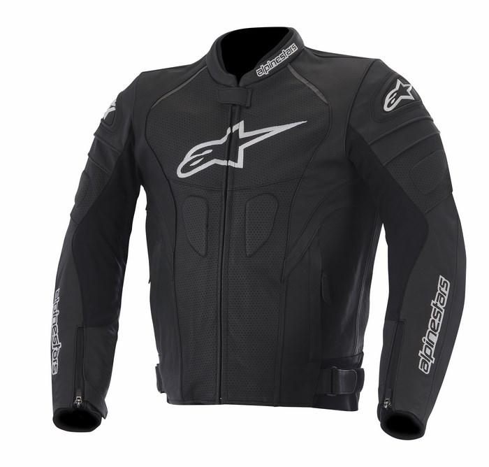 Alpinestars GP Plus R perforated leather jacket black