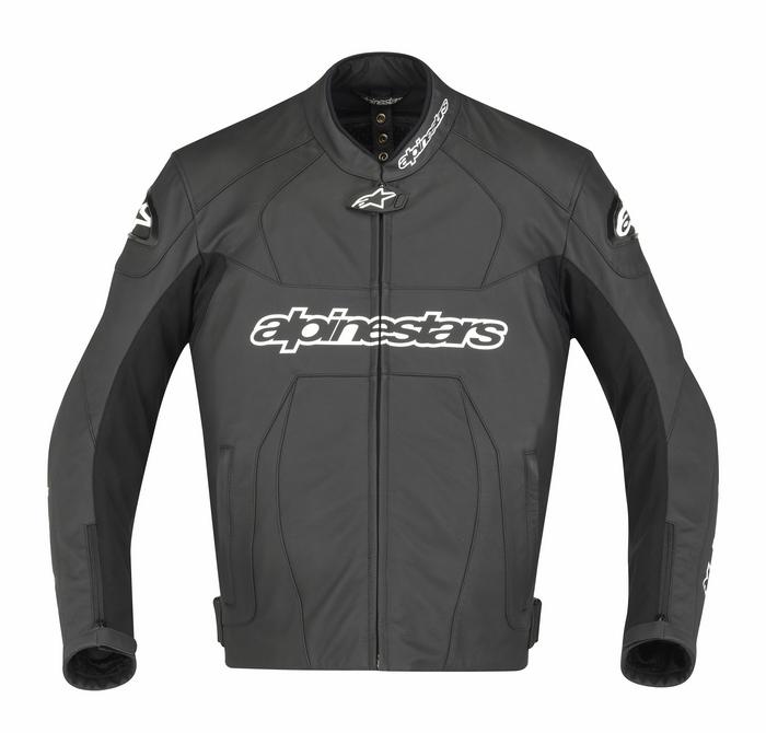 Giacca moto pelle Alpinestars GP Plus Nero