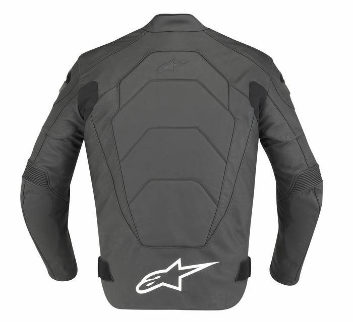 Alpinestars GP Plus Leather Motorcycle Jacket Black