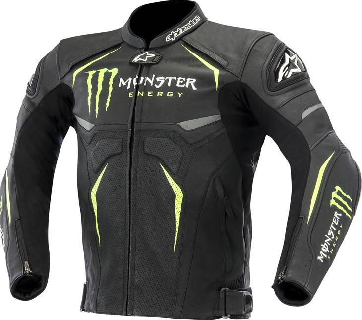 Alpinestars Monster Hellhound summer leather jacket