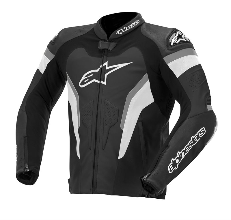 Alpinestars GP Pro leather jacket Black Anthracite