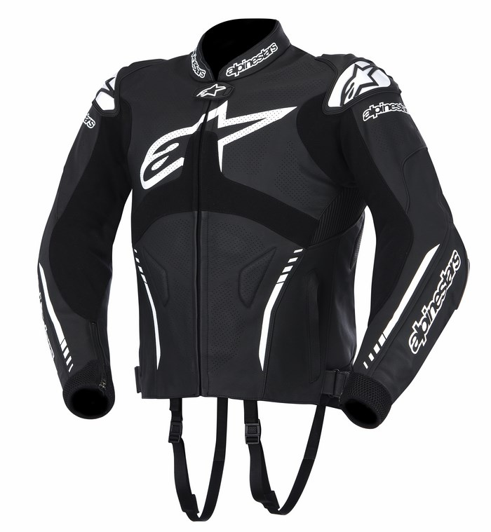 Alpinestars Atem leather jacket black