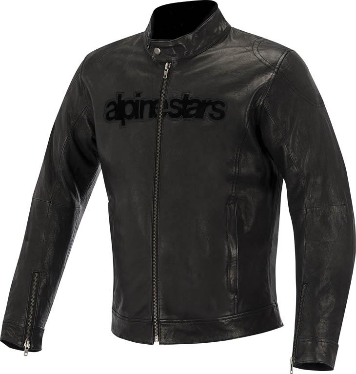 Alpinestars Huntsman leather jacket Black