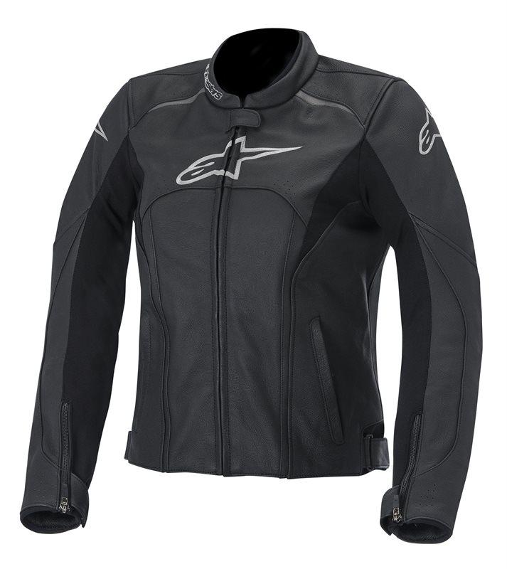 Alpinestars Stella Avant leather woman jacket Black