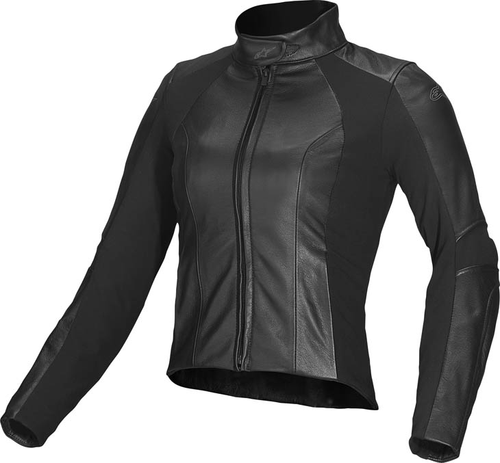 Alpinestars Stella Vika leather woman jacket Black