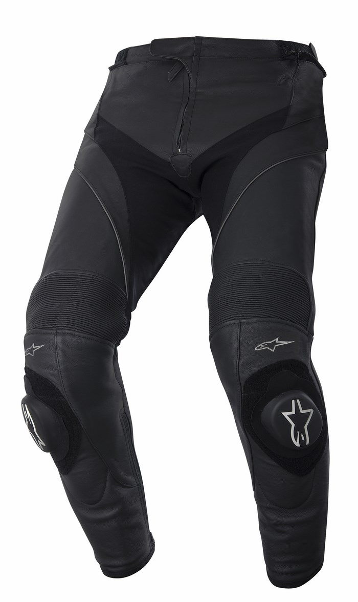 Alpinestars Missile leather pants black short