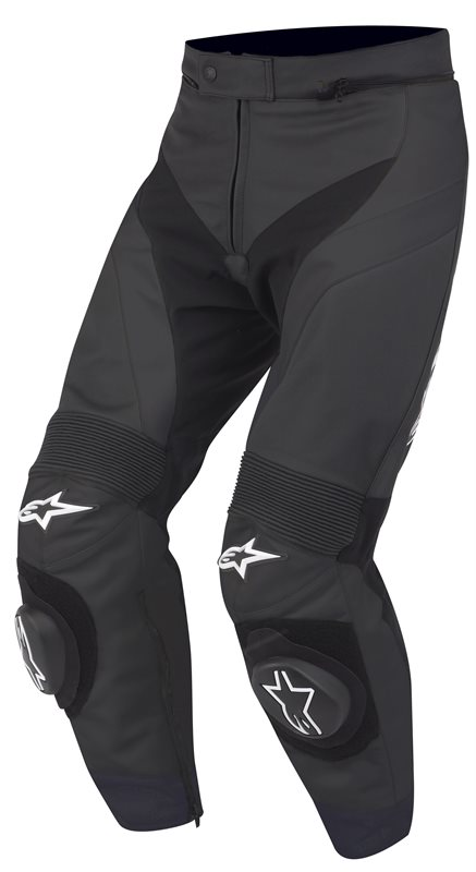 Pantaloni moto in pelle Alpinestars Gp Plus Nero