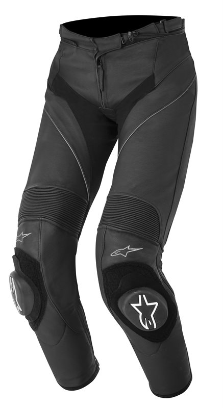 Alpinestars Stella Missile leather woman trousers Black