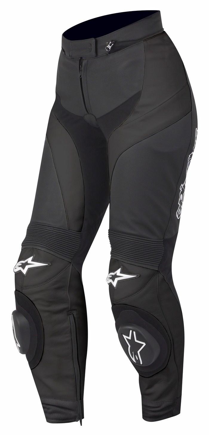 Women leather motorcycle pants Alpinestars Stella GP Plus