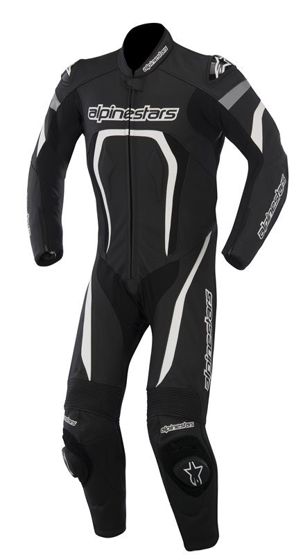 Alpinestars Motegi leather suit Black White