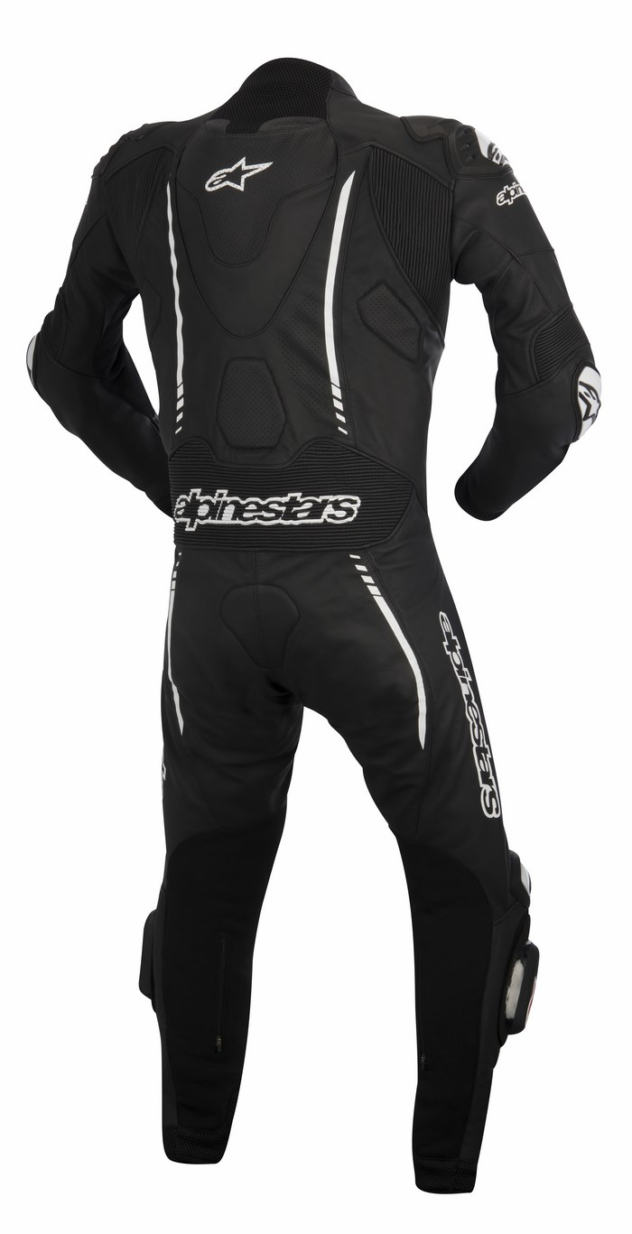 Alpinestars Atem one piece leather suit black