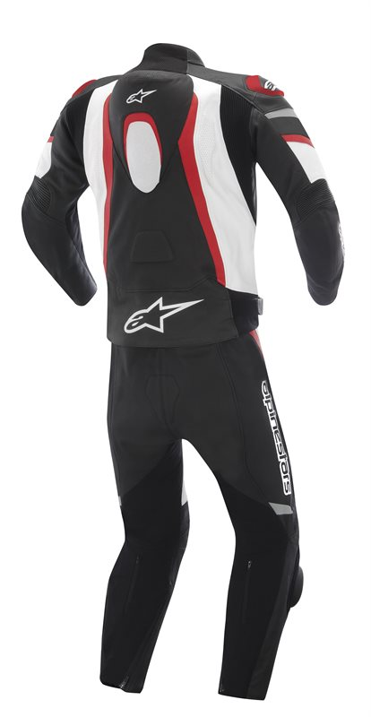 Alpinestars Motegi divisible leather suit Black White Red