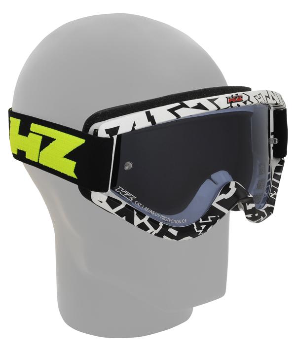 Occhiali cross HZ GMZ3 Racing Bianco