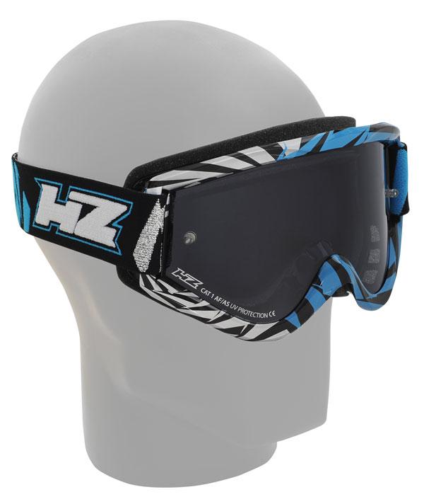 Occhiali cross HZ GMZ2 Vortex Argento Azzurro