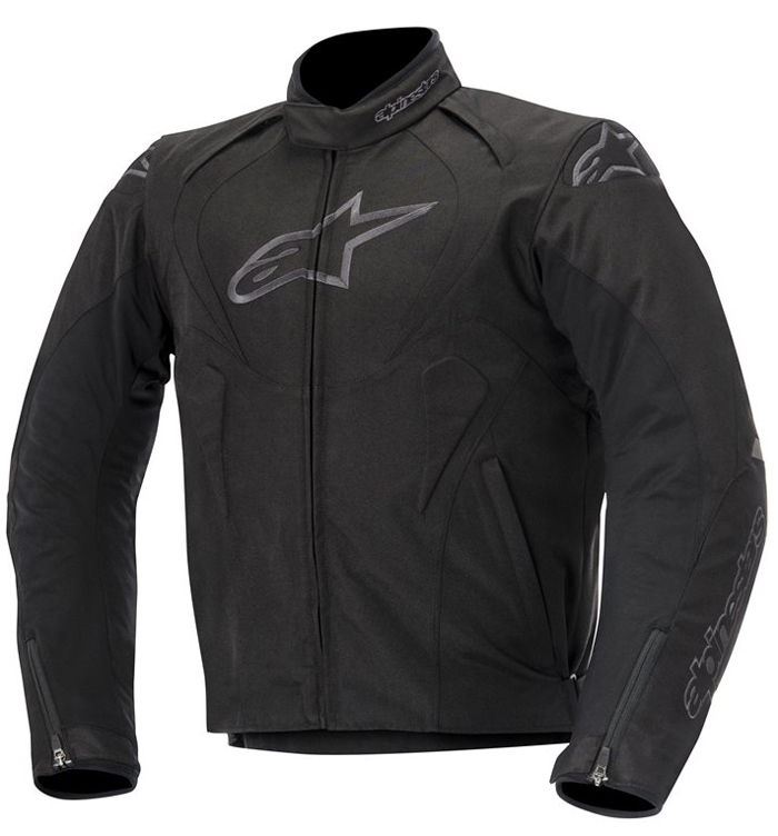 Giacca moto Alpinestars T-Jaws Waterproof Nero