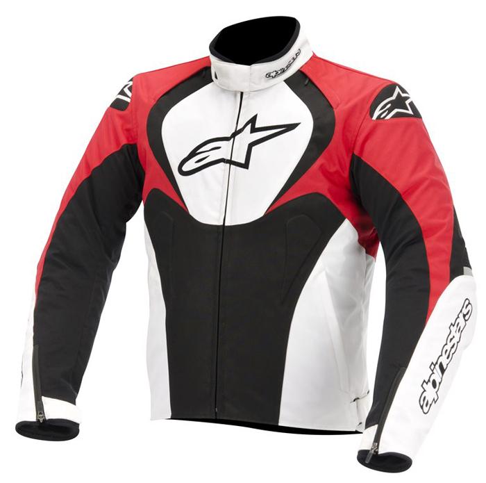 Jacket Alpinestars T-Jaws Waterproof Black White Red