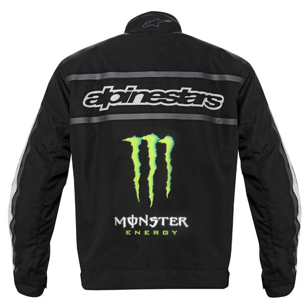 Giubbotto moto Alpinestars Howler Waterproof nero-verde Monster