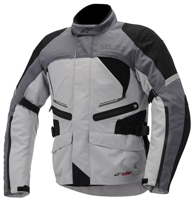 Valparaiso Alpinestars Drystar Jacket Grey Black