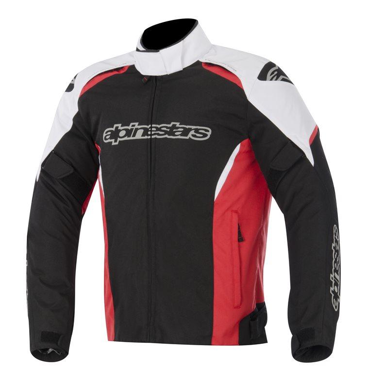 Alpinestars Gunner WP jacket Black Whitre Red