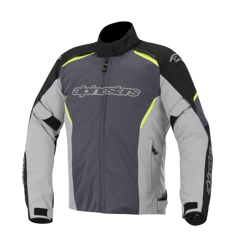Alpinestars Gunner WP jacket Black Grey Yellow