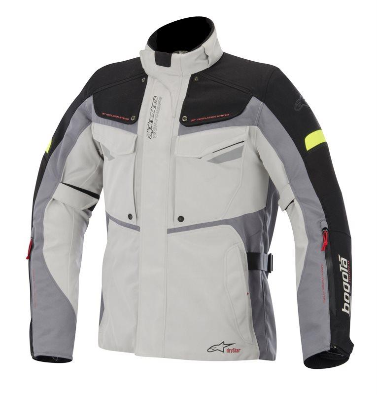 Alpinestars Bogota Drystar jacket Grey Black Yellow