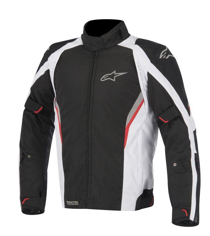 Alpinestars Megaton Drystar jacket Black White Red