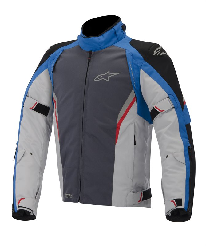 Alpinestars Megaton Drystar jacket Black Blue Grey Red