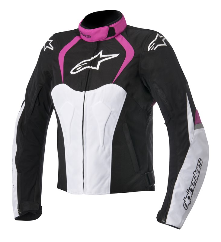 Alpinestars Stella T-Jaws WP woman jacket Black White Pink