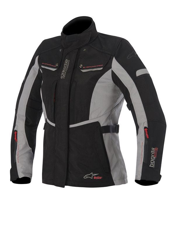 Alpinestars Stella Bogota woman jacket Black Grey