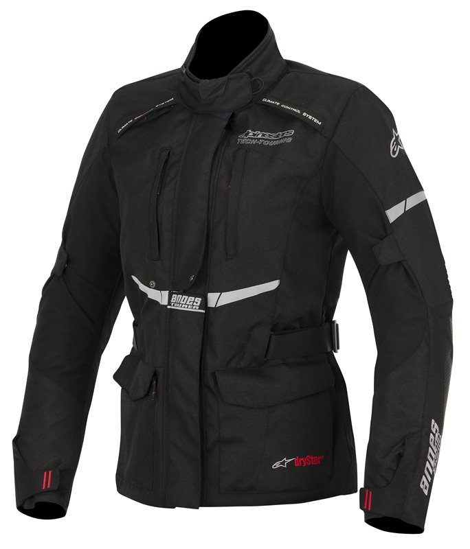 Alpinestars Stella Andes Drystar woman jacket Black