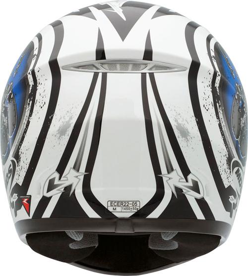 Casco moto Mds by Agv  M10 Multi Handstop bianco-blu