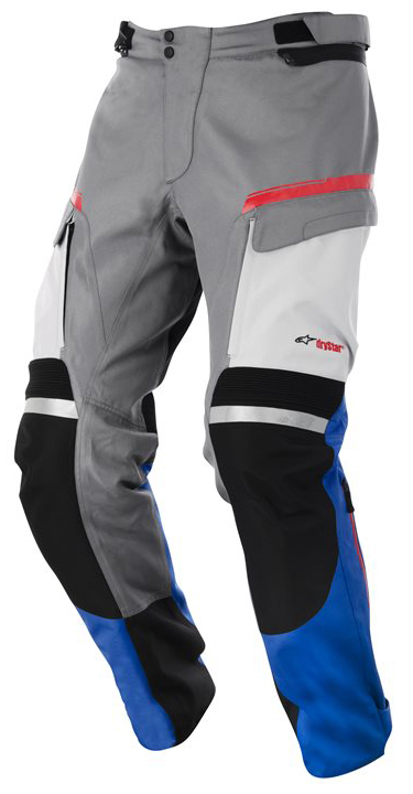 Valparaiso Drystar Pants Alpinestars Grey Blue Red