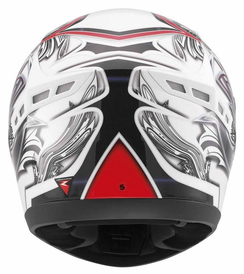 Mds by Agv M13 mULTI bRUSH  fullface helmet white red