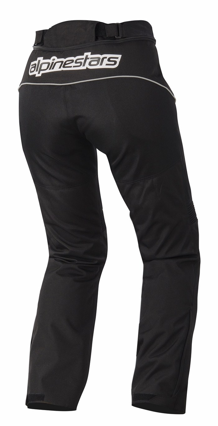 Women motorcycle pants waterproof Alpinestars AST-1 Black