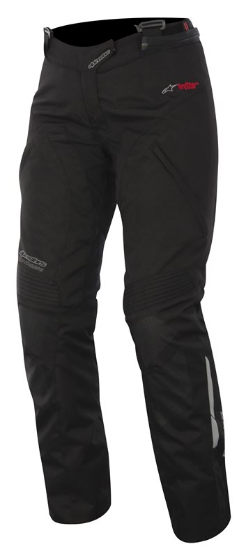 Pantaloni moto donna Alpinestars Stella Andes Drystar Nero