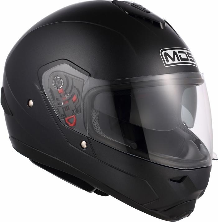 Casco moto Mds by Agv Fullsun Mono nero
