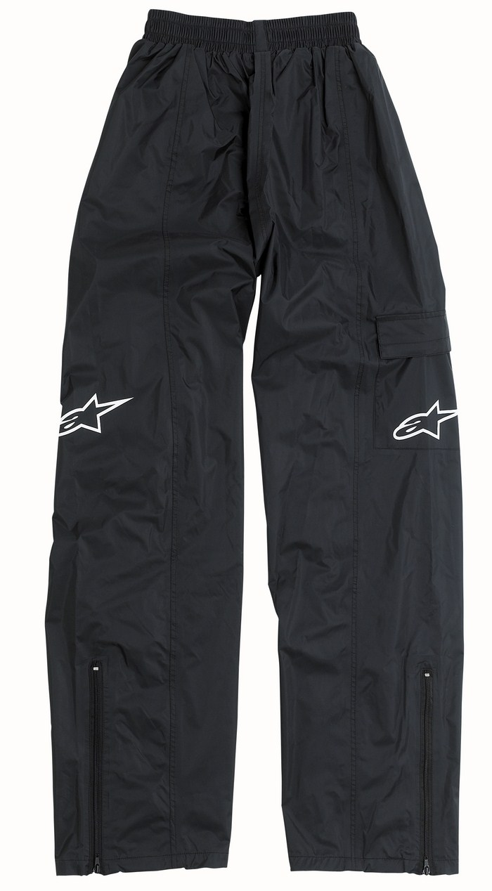Pantaloni antipioggia bambino Alpinestars Youth RP-5 Nero