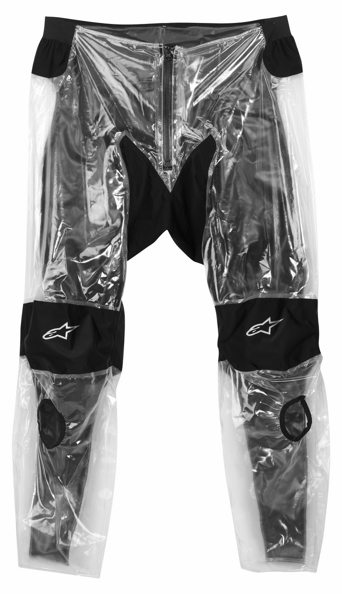 Alpinestars Racing Rain Rain Suit divisible 2piece Transp