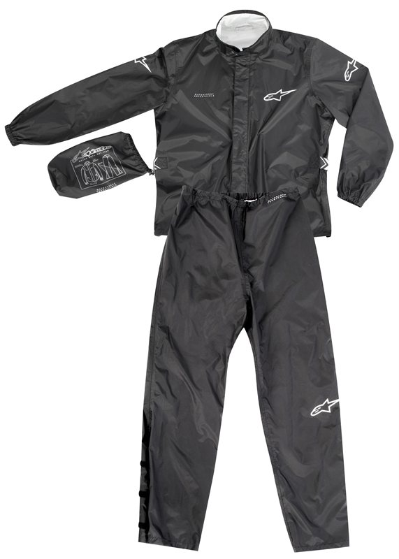 Alpinestars Quick Seal Out divisible rainsuit black
