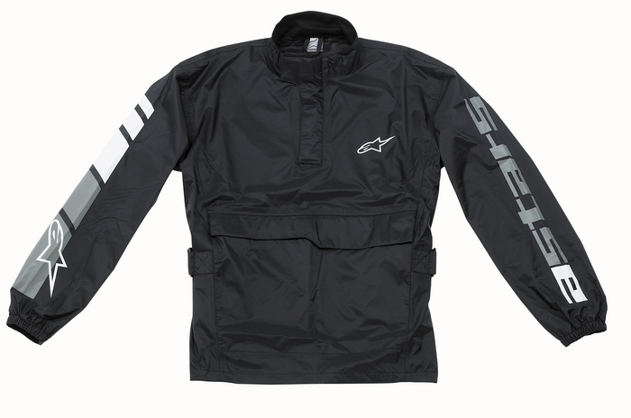 Rain Jacket Alpinestars RJ-5 Black Youth